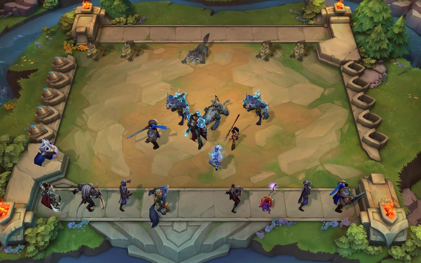 Riot Games buộc phải kéo dài thời gian tìm trận của Đấu Trường Chân Lý để giúp LMHT không bị sập - Hình 2