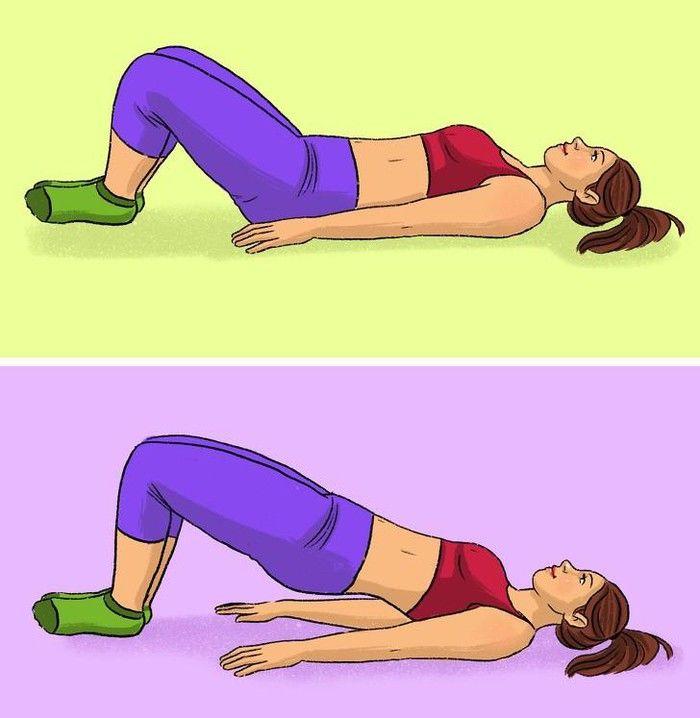 Bài tập chống đẩy giúp chị em có vòng 3 săn chắc và đôi chân thon dài như siêu mẫu - Hình 8