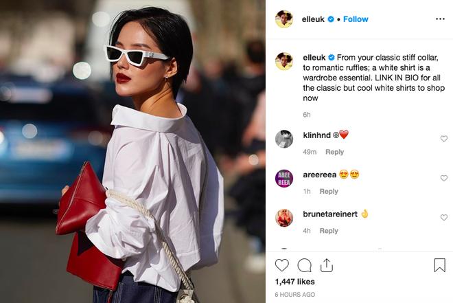 Được Elle UK đem ra làm minh chứng cho việc mặc đẹp, style của Khánh Linh The Face quả không tầm thường - Hình 2