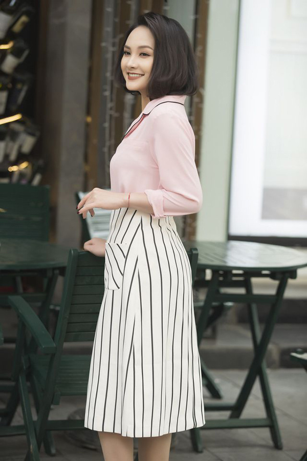 Gu mặc nữ tính của diễn viên Bảo Thanh - Hình 2