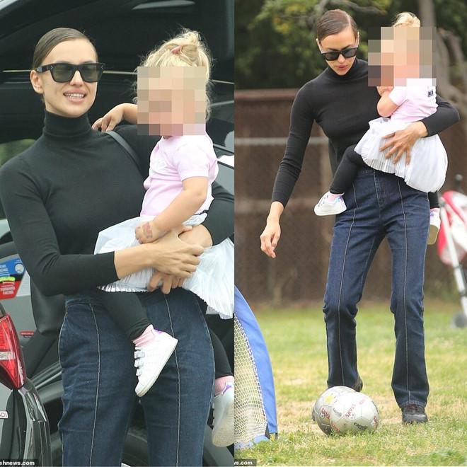 Irina Shayk vui vẻ bên con gái giữa tin rạn nứt với Bradley Cooper - Hình 1