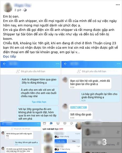 Cô gái bị tố bùng 20 ly trà sữa lên tiếng kêu oan, nhận lỗi khi để em trai boom thêm 2 đơn khác - Hình 8
