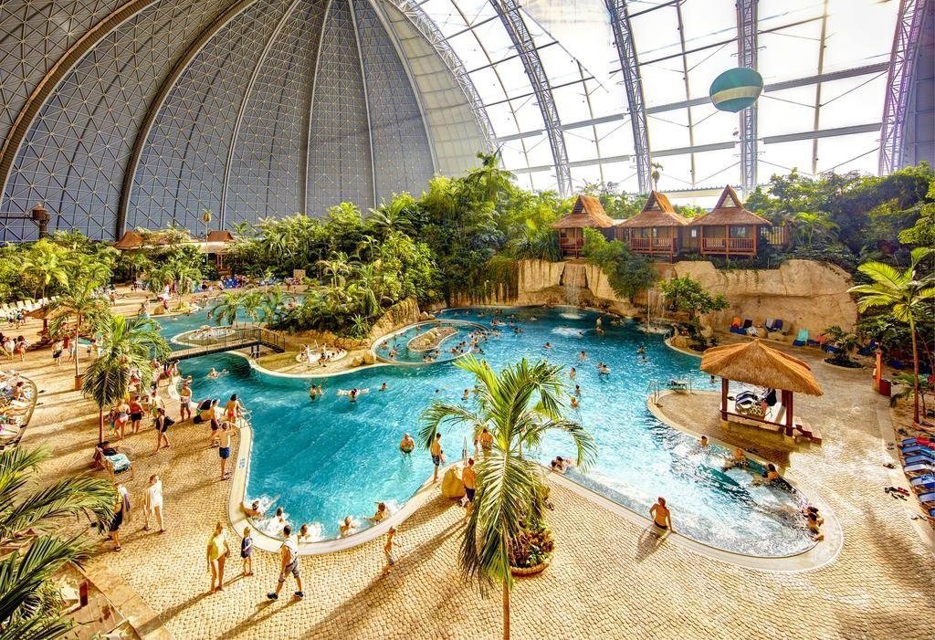 Công viên nước trong nhà lớn nhất thế giới ở Đức - Hình 2