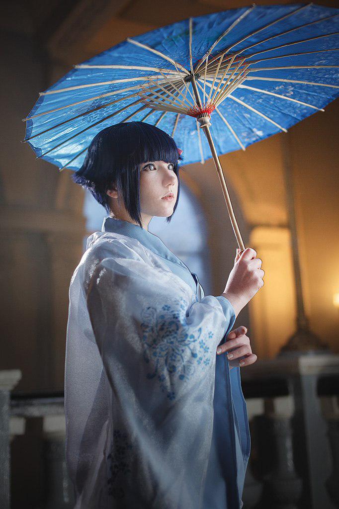 Màn cosplay Hinata Hyuga (Naruto) đầy ảo diệu - Hình 4