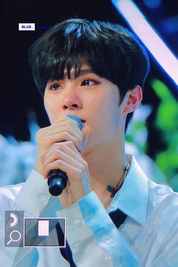 Rò rỉ trái phép hình ảnh của Kim Woo Seok trong tập 7 Produce X 101, fan yêu cầu fanpage xóa và cái kết - Hình 6