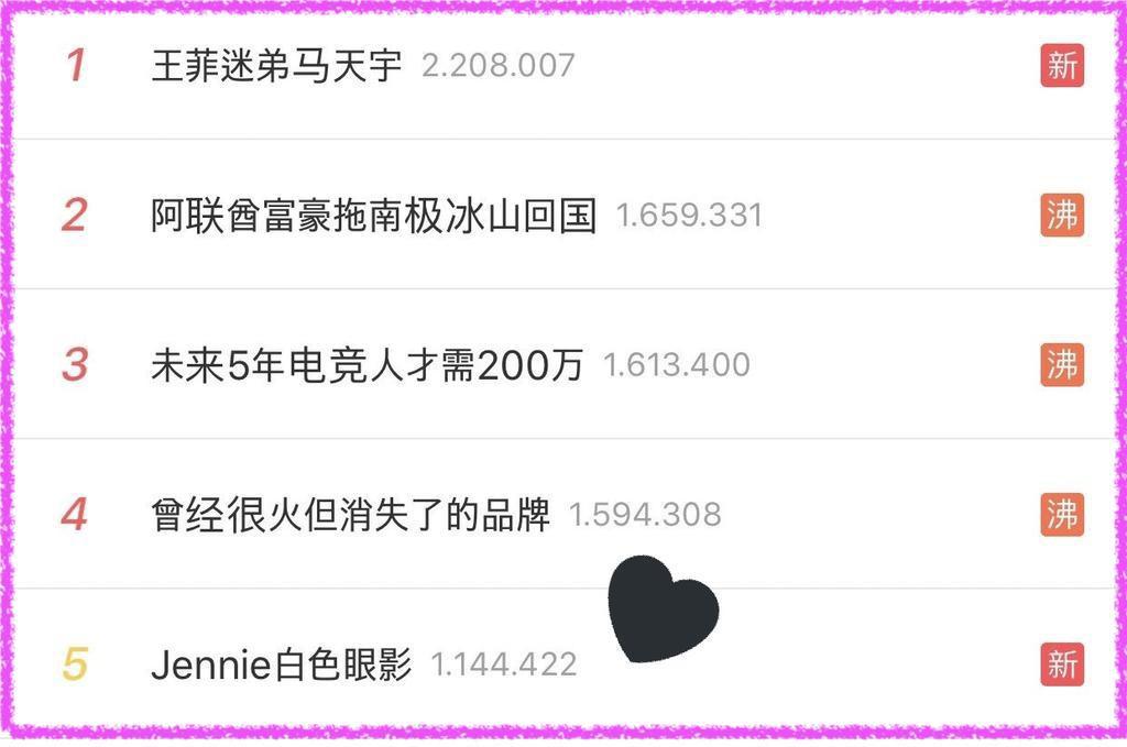 Chỉ có thể là Jennie: kẻ mắt sương sương cũng lọt top 5 trending trên Weibo - Hình 8
