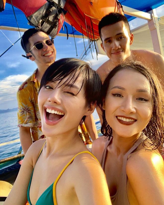 Đã đến hòn đảo đẹp nhất Philippines là phải chơi tới bến trò này như hội bạn thân vợ chồng Giang Ơi, Dino Vũ, Khánh Linh The Face - Hình 9