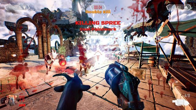 Hiện tại game thủ đã có thể biến dê để bắn nhau trong Goat of Duty mới mở thử nghiệm - Hình 3