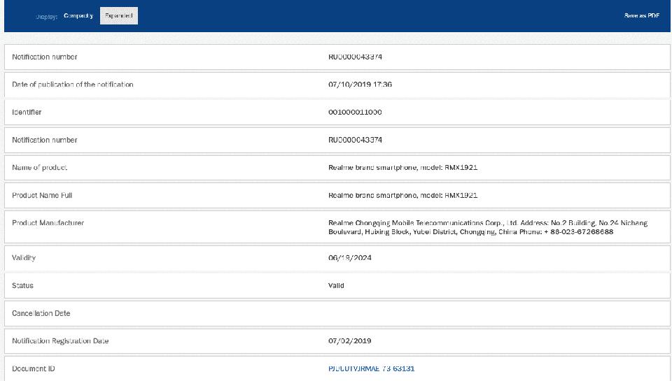 Realme 4 và Realme 4 Pro vừa đạt chứng nhận EEC tại Nga, sắp sửa ra mắt? - Hình 3