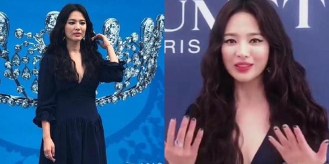 Song Hye Kyo mặc gợi cảm sau khi ly hôn Song Joong Ki - Hình 2