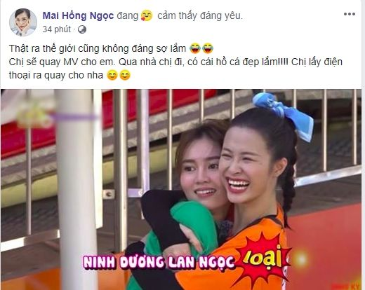 Đông Nhi rủ Ninh Dương Lan Ngọc qua nhà quay MV, fan lập tức triệu hồi... cây hài Diệu Nhi - Hình 1