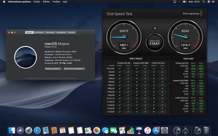 MacBook Air 2019 rẻ hơn nhưng SSD cũng chậm hơn 35% so với đời 2018 - Hình 1