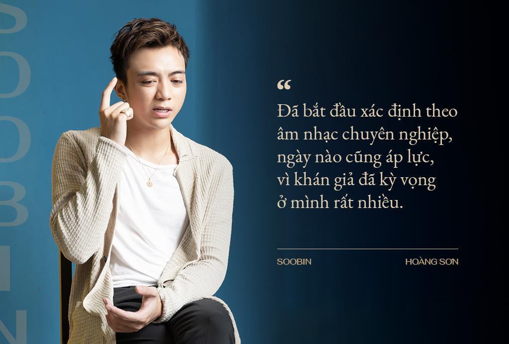 Soobin Hoàng Sơn: Khi kiệt quệ, tôi gọi điện cho mẹ và bật khóc - Hình 2