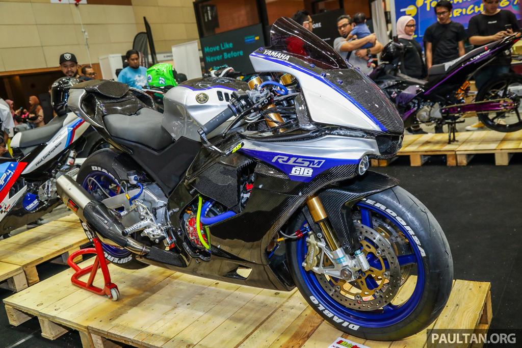 Không thể nhận ra Yamaha Exciter 150 với bản độ siêu môtô R1M - Hình 1