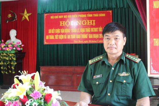 BĐBP Thái Bình sơ kết 5 năm thực hiện Cuộc vận động 50 - Hình 1