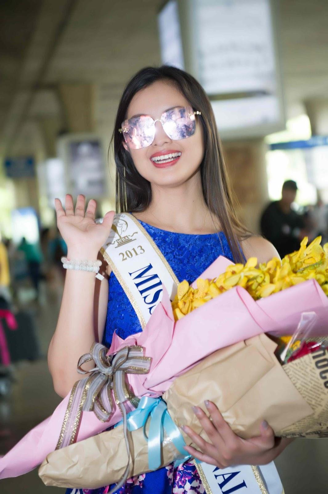 Miss Supranational 2013 Mutya Johanna Datul tự tin khoe sắc vóc trong ngày đầu có mặt tại Việt Nam - Hình 3