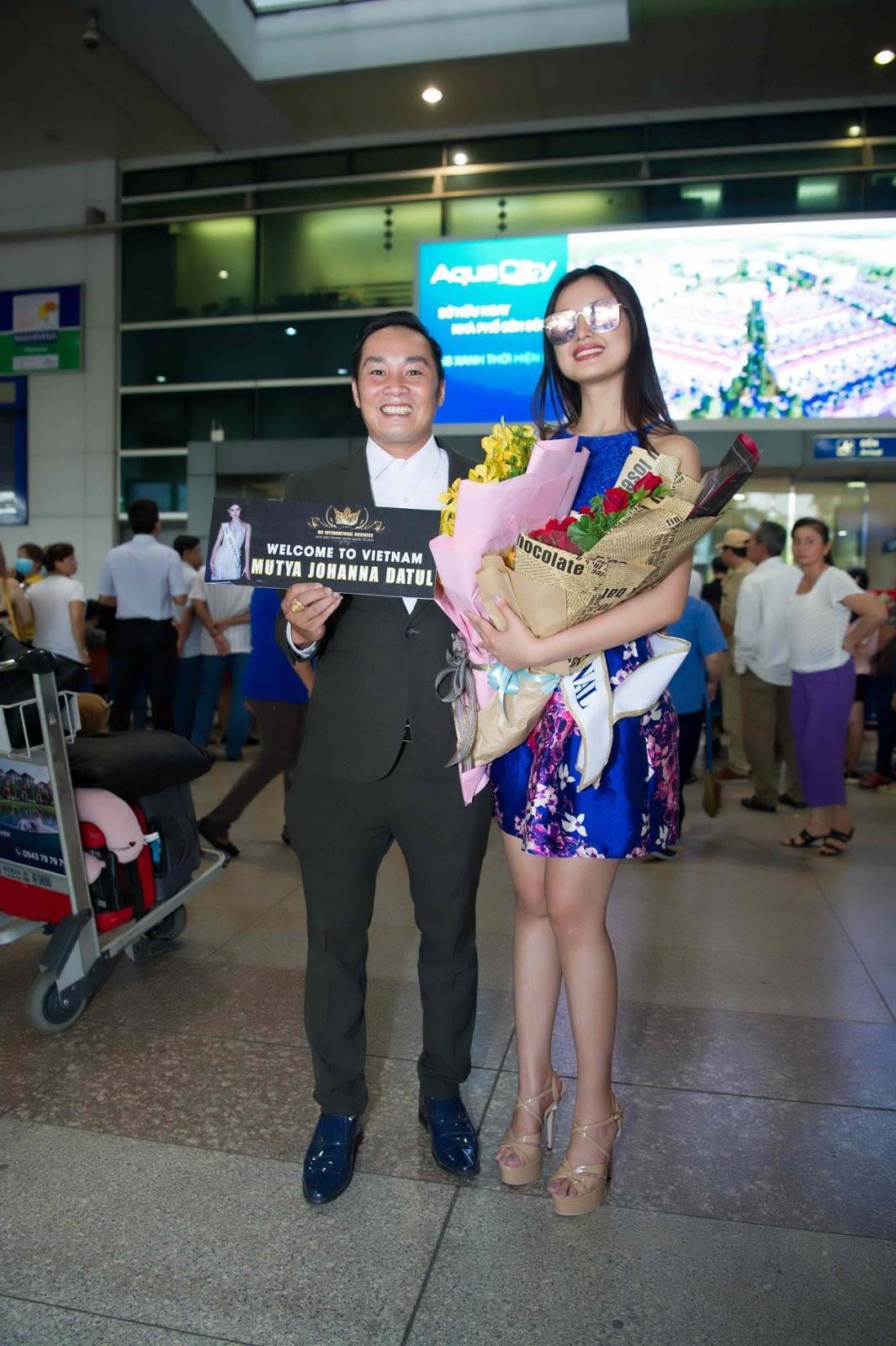 Miss Supranational 2013 Mutya Johanna Datul tự tin khoe sắc vóc trong ngày đầu có mặt tại Việt Nam - Hình 4