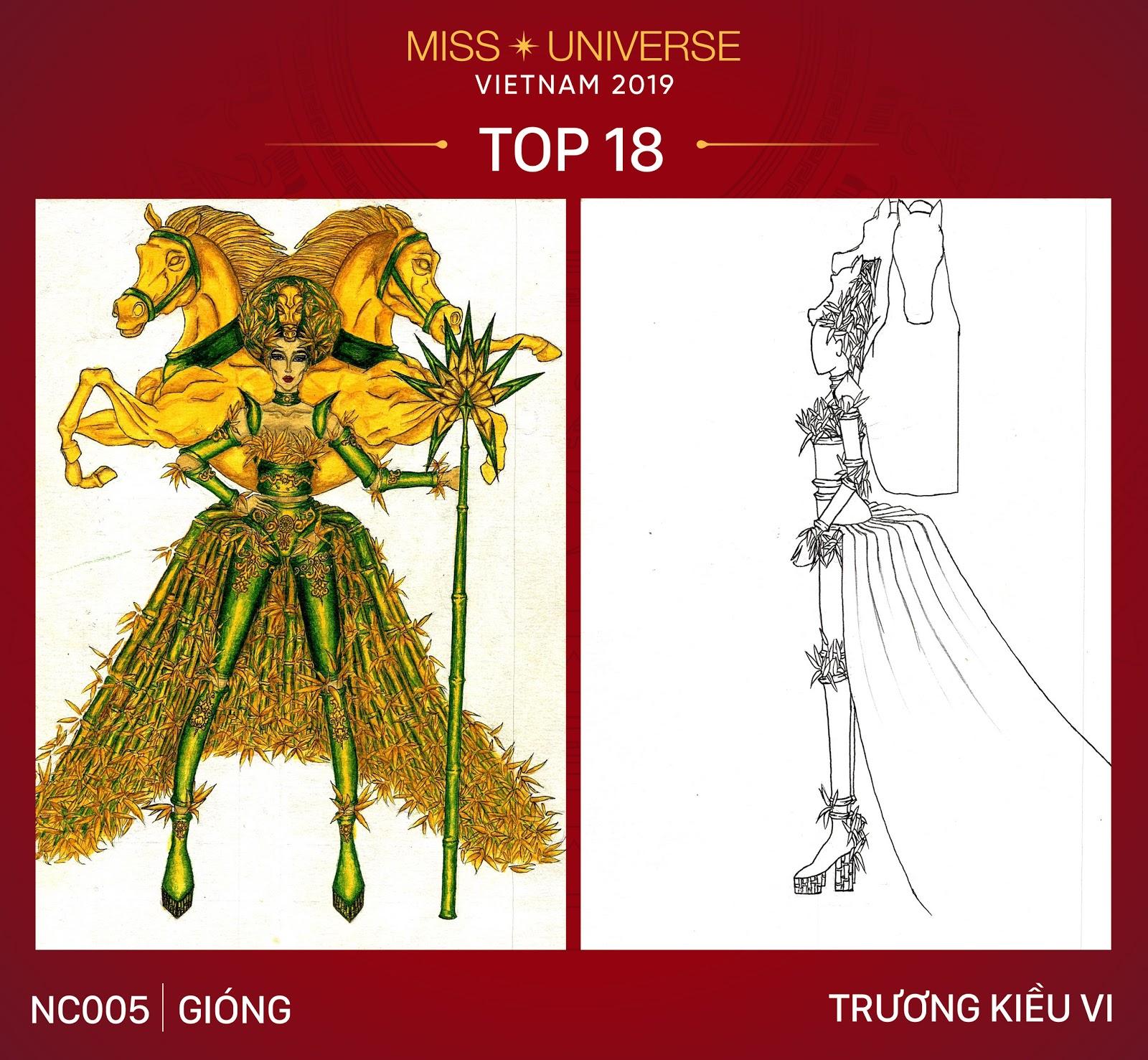 Công bố Top 18 trang phục dân tộc cho Hoàng Thùy tại Miss Universe 2019 - Hình 3