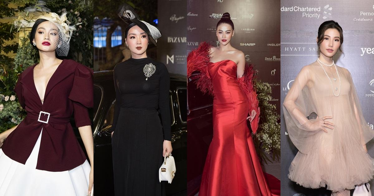 'Cuộc chiến váy áo' của các mỹ nhân trên thảm đỏ 'Beauty of Yesterday', Phương Khánh lại một lần nữa gây choáng - Hình 1
