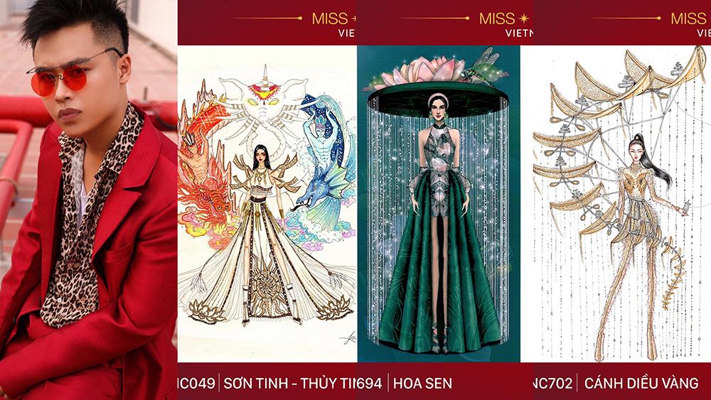 NTK Minh Tuấn làm Mentor cuộc thi thiết kế trang phục dân tộc cho Hoàng Thùy tại Miss Universe 2019 - Hình 3