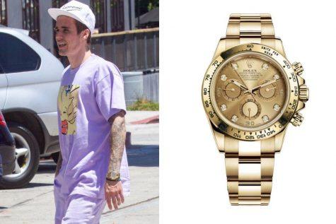 Đồng hồ nam cao cấp của sao (22-31/7/2019): Justin Bieber, Chris Pratt, Idris Elba và Joe Jonas - Phong cách sao - #ShowBizVN