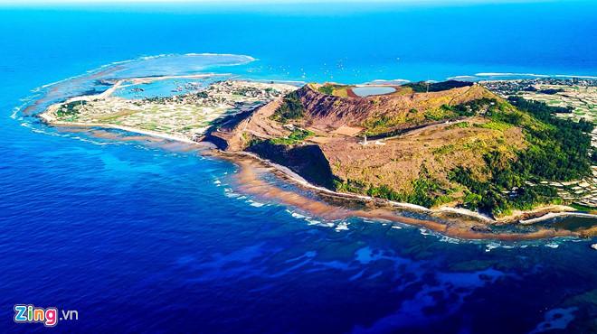 Đề xuất hai núi lửa triệu năm ở đảo Lý Sơn là Di tích quốc gia - Hình 2