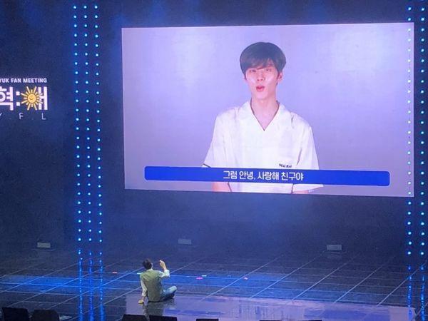 Produce X 101: Kim Min Kyu dự họp fan của Lee Jin Hyuk, Kim Woo Seok (X1) gửi video nhắn nhủ xúc động - Hình 20