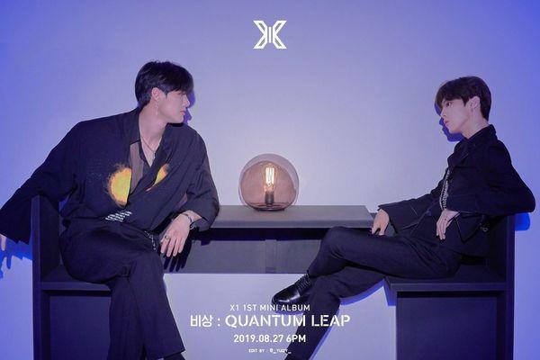 X1: Giật mình trước poster đam mỹ của Han Seung Woo - Cho Seung Yeon và Kim Woo Seok - Hình 10