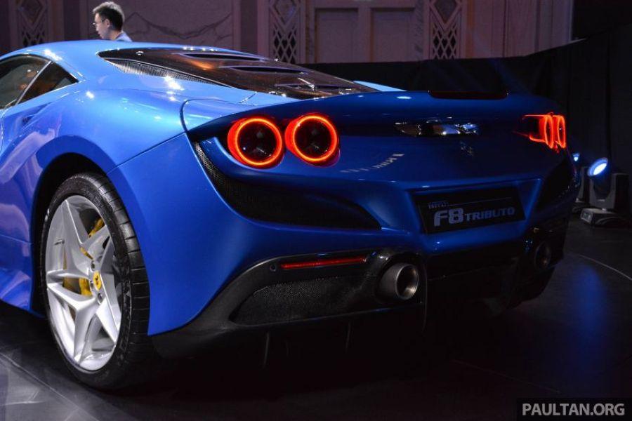 Siêu phẩm Ferrari F8 Tributo lần đầu cập bến Đông Nam Á, giá gần 6 tỷ VNĐ - Hình 5