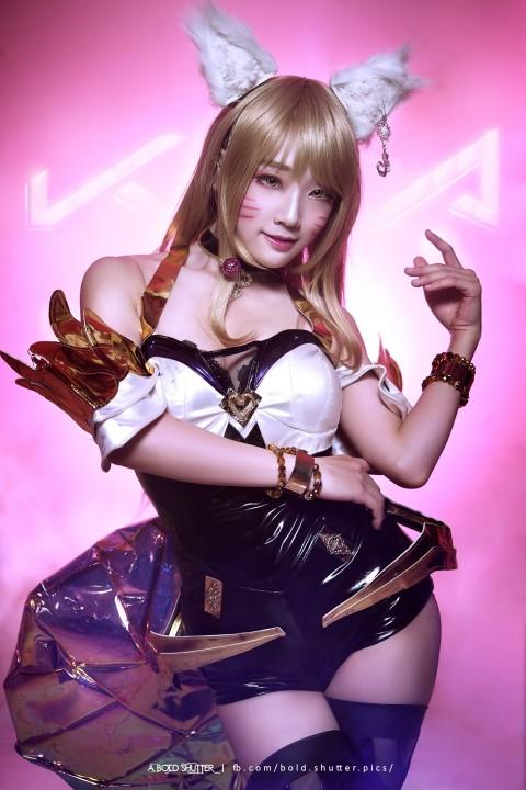 Bộ ảnh cosplay KDA Ahri siêu dễ thương của cosplayer Aza Miyuko - Hình 8