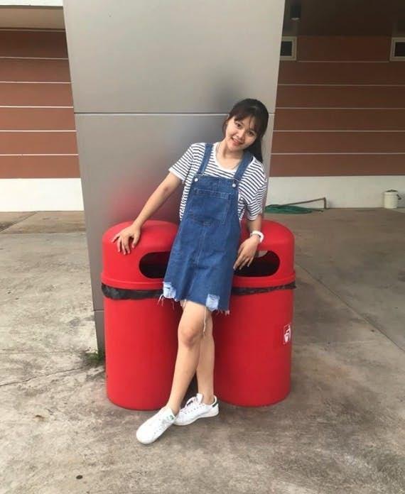 Giảm 44kg sau 1 năm, nàng béo Thái Lan lột xác trở thành hot girl xinh đẹp khiến cộng đồng mạng bất ngờ - Hình 7