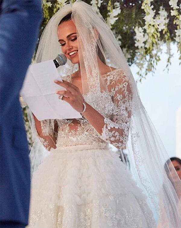 Siêu mẫu gợi cảm lấy tỷ phú bô lão: Đám cưới 25 tỷ, ai ngờ khốn khổ sau 3 năm - Hình 5