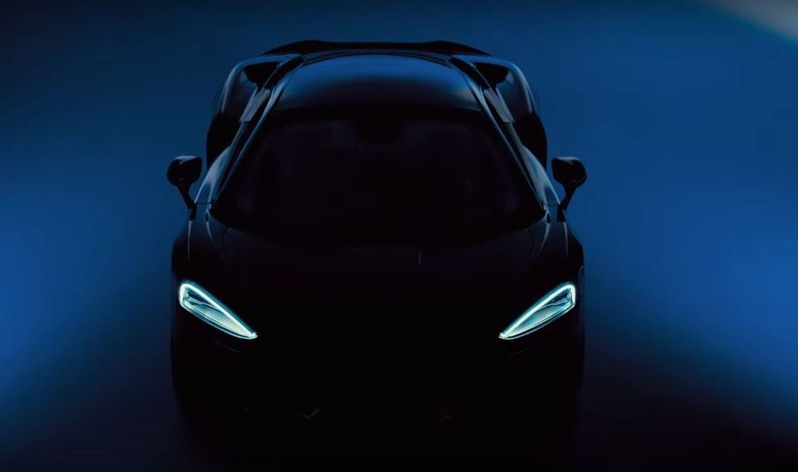 Siêu xe McLaren GT mới tung teaser với cấu hình bốn chỗ? - Hình 1