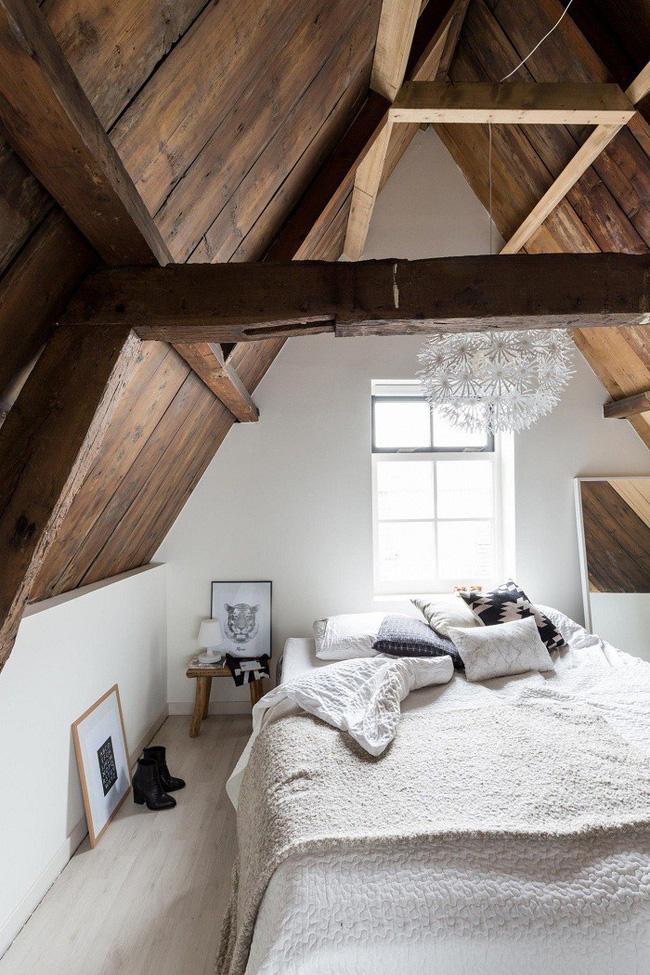 2 cách thiết kế thông minh và hữu ích cho không gian phòng ngủ gác mái - Hình 11