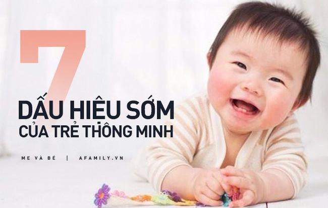 7 dấu hiệu sớm của trẻ thông minh bố mẹ có thể phát hiện trước khi con 5 tuổi - Hình 1