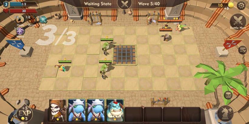 Auto Chess War - tự động cờ thích hợp nhất để chơi offline - Hình 1