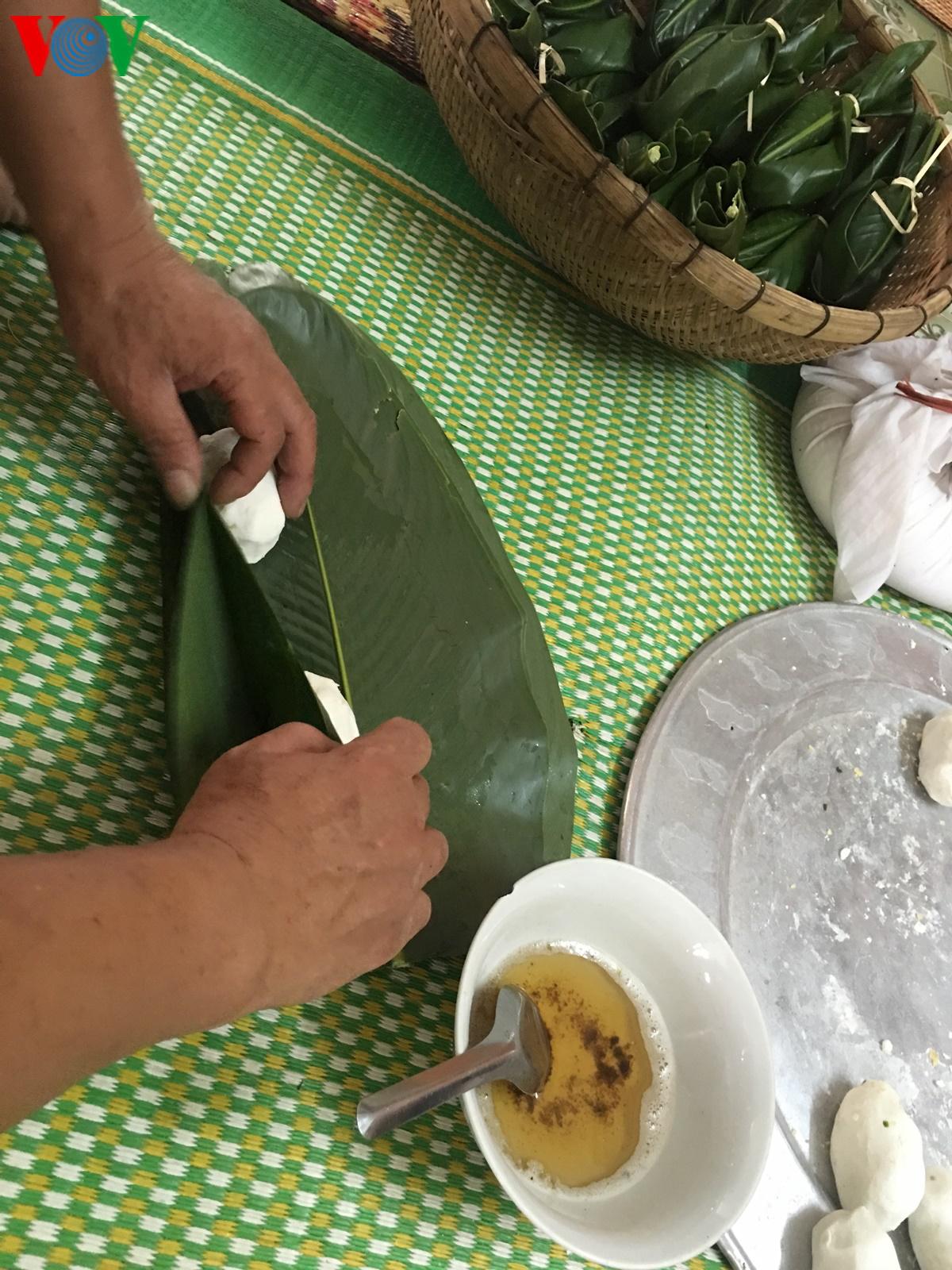 Bánh Ít trong ngày tết Xíp xí của người Thái trắng Tây Bắc - Hình 8