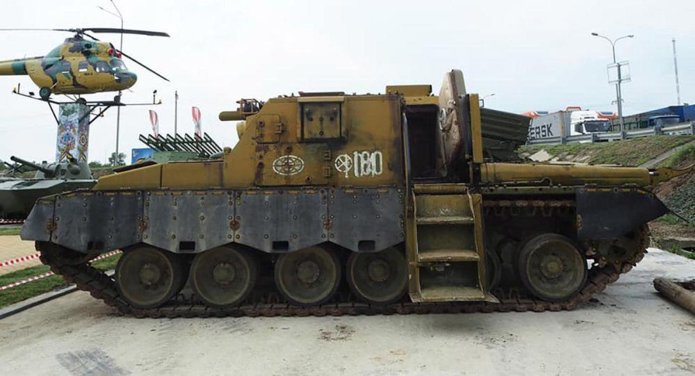 Bí mật quân sự : Phát hiện xe tăng ngày tận thế hạt nhân ở Nga - Hình 1