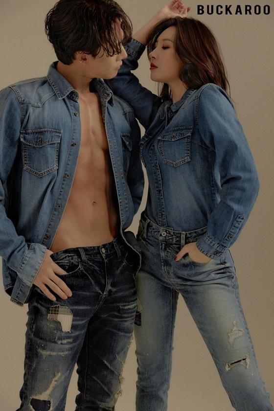 Bộ ảnh quảng cáo gây tranh cãi của mỹ nhân Sunmi và nam vũ công 6 múi gợi cảm: Muốn đỏ mặt vì kiểu tạo dáng! - Hình 5