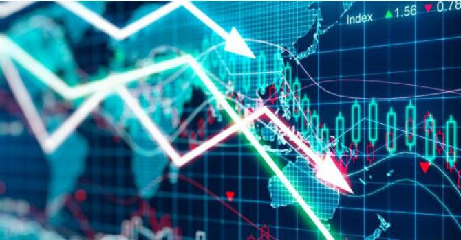 Các cổ phiếu ồ ạt đi xuống, chỉ số Vn-Index để mất gần 9 điểm - Hình 1