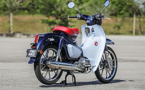 Cận cảnh Honda Super Cub C125 2019 đậm chất cổ điển, giá ngang SH 125 - Hình 9