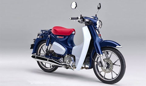 Cận cảnh Honda Super Cub C125 2019 đậm chất cổ điển, giá ngang SH 125 - Hình 2
