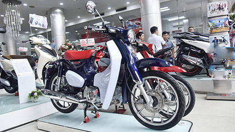 Cận cảnh Honda Super Cub C125 2019 đậm chất cổ điển, giá ngang SH 125 - Hình 1