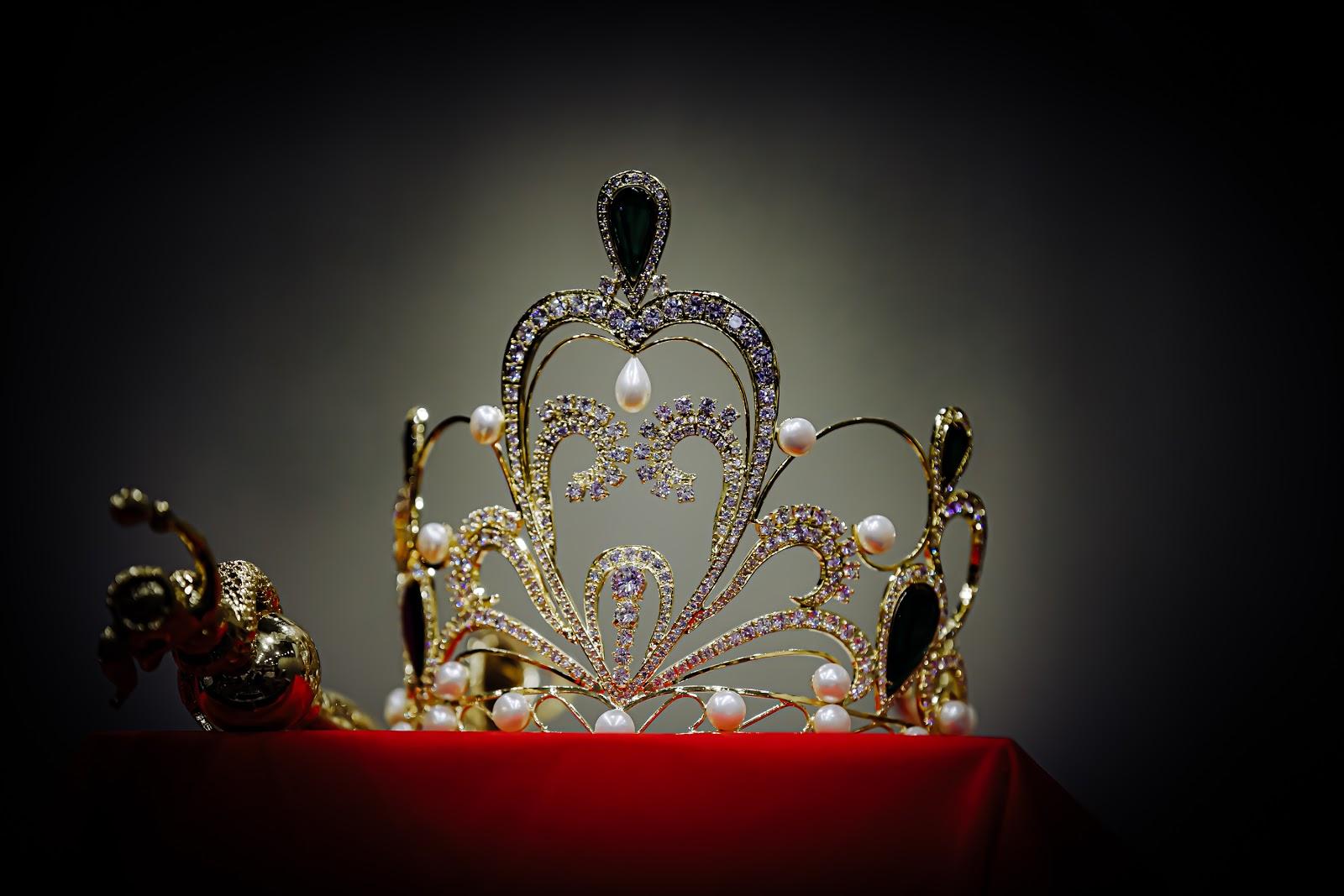 Cận cảnh vương miện 2 tỷ làm từ 2000 viên pha lê của cuộc thi Hoa hậu Tiểu Vy làm giám khảo - Hình 5