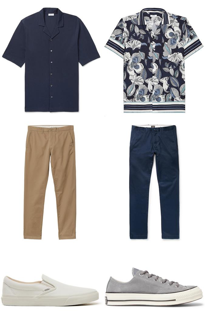 Gợi ý cách mix-and-match quần áo nghỉ mát sành điệu cho nam giới - Hình 9