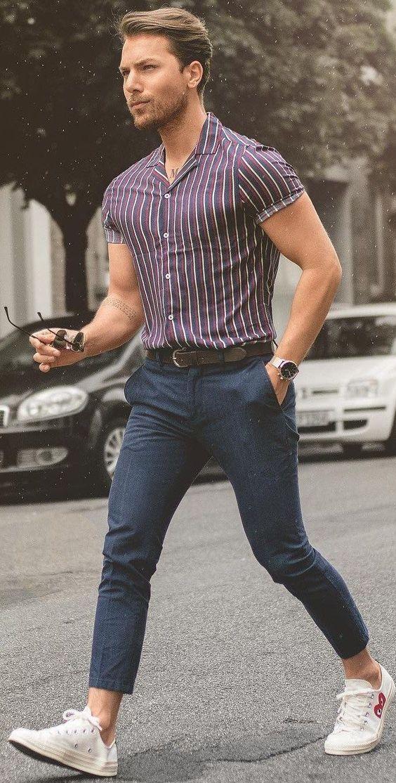 Gợi ý cách mix-and-match quần áo nghỉ mát sành điệu cho nam giới - Hình 8