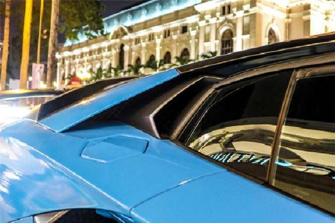 Ngắm siêu xe Lamborghini Aventador SV hơn 30 tỷ trên phố Sài Gòn - Hình 6