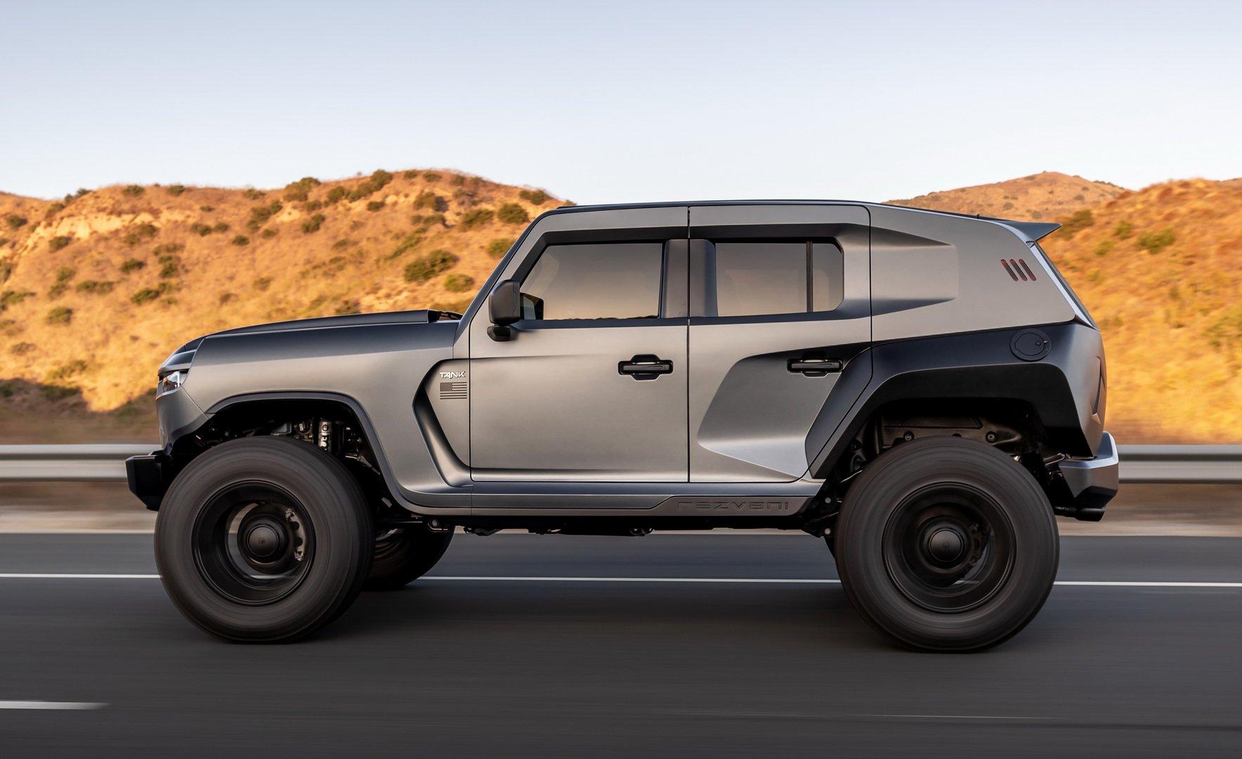 Có gì ở Rezvani Tank 2020: Chiếc SUV mạnh mẽ nhất thế giới? - Hình 2