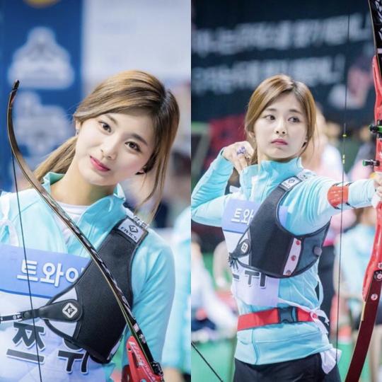 Nữ thần TWICE lại gây náo loạn Đại hội thể thao idol 2019: Ảnh fan chụp sương sương mà đẹp như nữ chiến binh - Hình 10