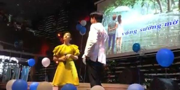 Bảo Thanh và Quốc Trường (Về nhà đi con) khiến fan rung rinh khi song ca cực tình bài hát Cơn mưa tình yêu - Hình 1